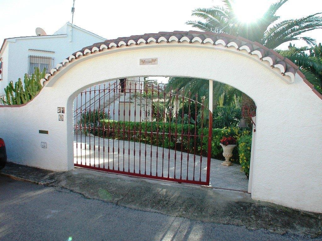 Villa in de buurt van het belangrijkste zandstrand van Calpe appartement .